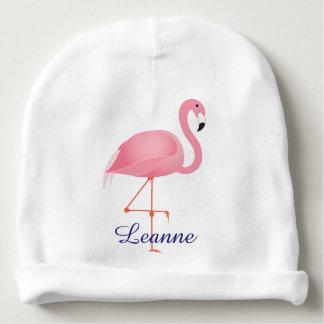 Gorro Para Bebê Chapéu cor-de-rosa do beanie do bebê do flamingo