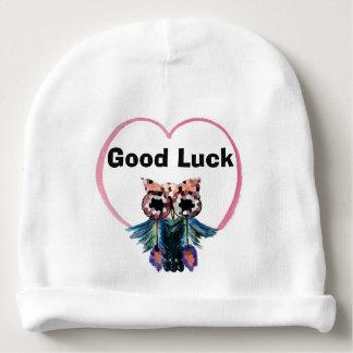 Gorro Para Bebê Coruja da boa sorte