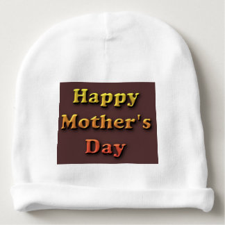 Gorro Para Bebê dia das mães feliz