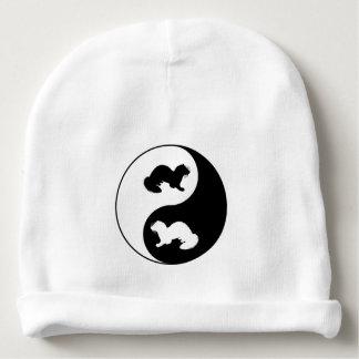 Gorro Para Bebê Doninhas de Ying e de yang