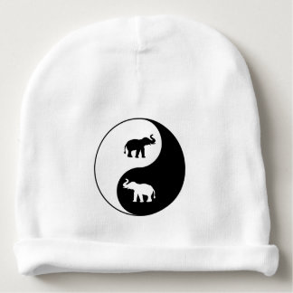 Gorro Para Bebê Elefantes de Yin e de Yang