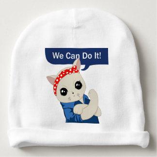 Gorro Para Bebê Gato feminista