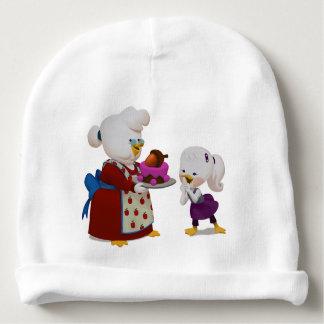 Gorro Para Bebê Gorrinho da Lily e da vovó para bebês.