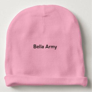Gorro Para Bebê Hoodie do exército de Bella