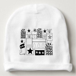 Gorro Para Bebê Linha design dos presentes da estrela da arte