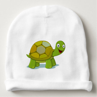 Gorro Para Bebê Tartaruga minúscula de Kawaii