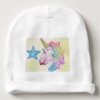 Gorro Para Bebê unicórnio do arco-íris