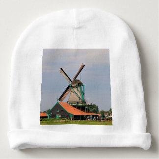 Gorro Para Bebê Vila holandesa do moinho de vento, Holland 3