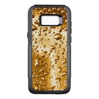 Gotas de água da caixa | da galáxia 7 no ouro capa OtterBox commuter para samsung galaxy s8+