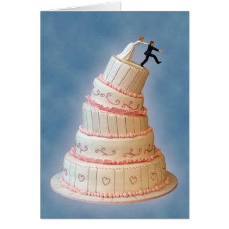 Gotcha!  Convite do casamento Cartão Comemorativo