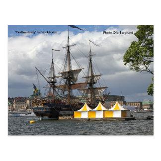 """""""Gothenburg"""" em Éstocolmo, Phot… Cartão Postal"""