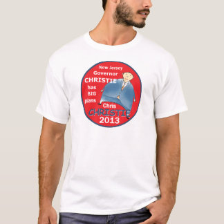 Governador 2013 de Christie Camiseta