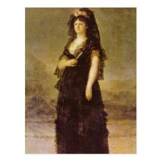 Goya y Lucientes, Francisco de Retrato do Que Cartões Postais