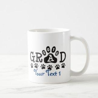 Graduação 2016 personalizada do © do impressão da caneca de café