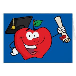 Graduação da faculdade ou da escola profissional cartão comemorativo