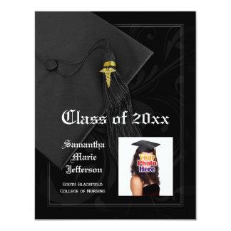 Graduação da foto da Faculdade de Medicina ou da Convite 10.79 X 13.97cm