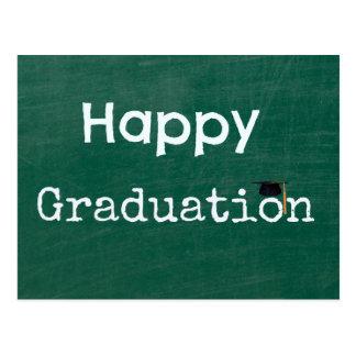 Graduação feliz cartão postal
