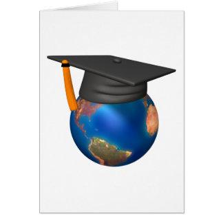 Graduação personalizada cartão comemorativo
