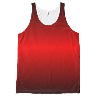 Graedient Red™ unisex Regata Com Estampa Completa