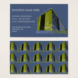 Gráfico da arquitetura cartão de visitas