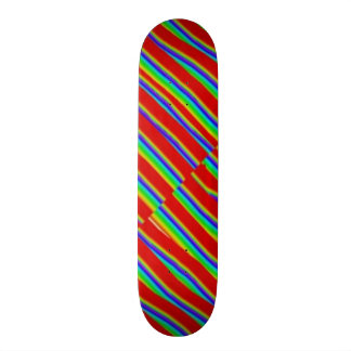 Gráfico da ARTE n da plataforma de Borarding do Shape De Skate 21,6cm