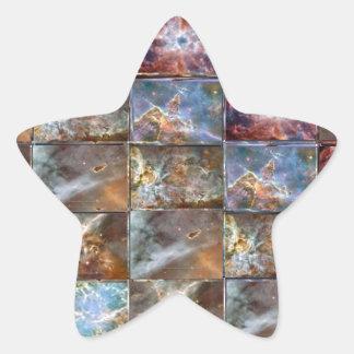 Gráficos do trabalho do azulejo da onda de CÉU Adesivo Estrela