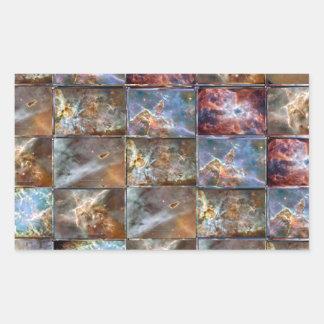 Gráficos do trabalho do azulejo da onda de CÉU Adesivos Em Formato Retangulares