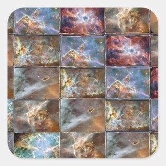 Gráficos do trabalho do azulejo da onda de CÉU Adesivos