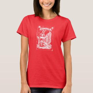 Grafiteira CANZILLA - Retro SciFi monstro banda Camisetas