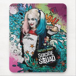 Grafites do caráter do pelotão | Harley Quinn do Mouse Pad