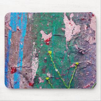 Grafites Mousepad - roxo do verde azul do risco