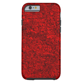 Grama vermelha capa tough para iPhone 6