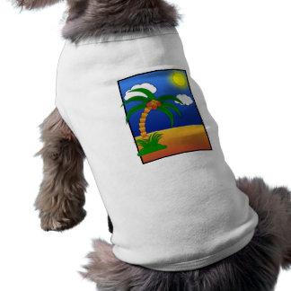 grampo p dos meios dos desenhos animados da camiseta