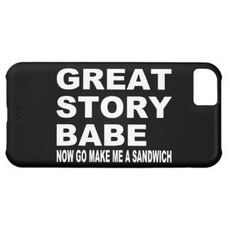 Grande borracho da história… Caso engraçado do Capa Para iPhone 5C