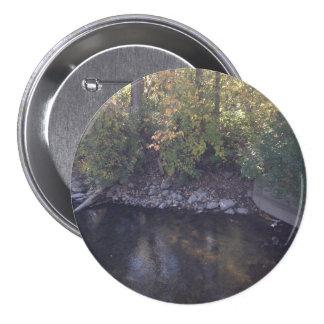 Grande botão de três polegadas com angra bóton redondo 7.62cm