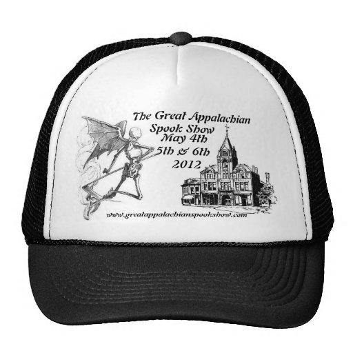Grande chapéu apalaches da mostra do susto bonés