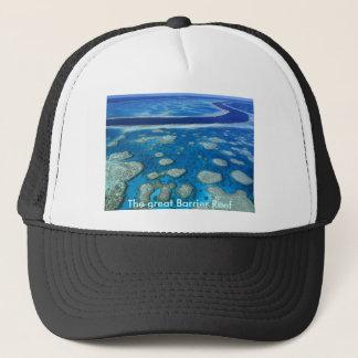Grande chapéu do recife de coral boné