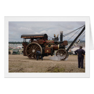 Grande Dorset vapor justo, Reino Unido do cartão  