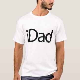 grande e pia batismal verdadeira do iDad Camisetas