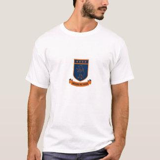 Grande logotipo inglês do futebol de Chicago do T-shirt