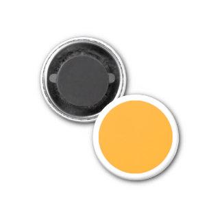 Grande parte branca magnética do jogo da laranja ímã redondo 2.54cm