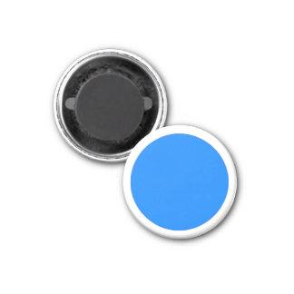 Grande parte branca magnética do jogo do azul ímã redondo 2.54cm