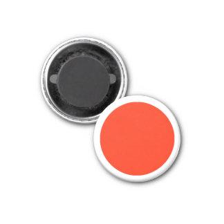 Grande parte branca magnética do jogo do vermelho ímã redondo 2.54cm