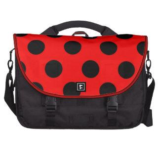 """Grande saco preto vermelho """"senhora Desinsetar """" d Mochila Para Notebook"""
