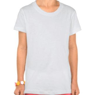 Grande t-shirt personalizado do jérsei de Bella