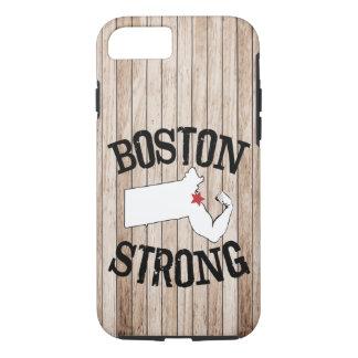 Grão de madeira forte de Boston Capa iPhone 8/7