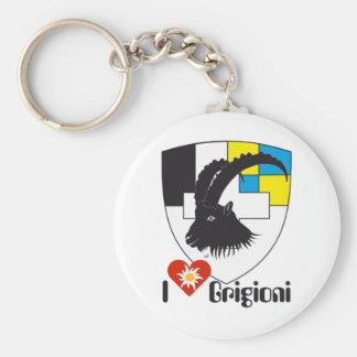 Graubünden Grischun Grigioni porta-chaves