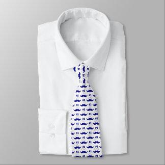 Gravata Bigode azul do pai #1 - número um