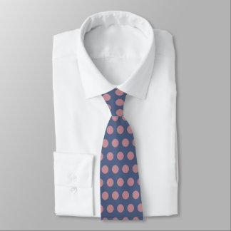Gravata Bolinhas cor-de-rosa à moda modernas
