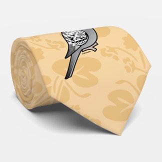 Gravata Cinza Budgie de Birdorable